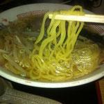こだわりの自家製細麺!