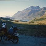 Jahr 2000, wieder solo unterwegs in den Alpen