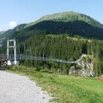 """""""Höhepunkt"""" - längste Hängebrücke Österreichs"""