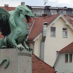 Дракон - змай на мосту через Любляницу