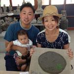 道の駅『那須高原友愛の森〜工芸館』 赤ちゃんの手形も、、