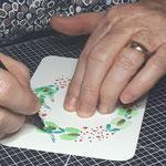 paper break prestation aquarelle calligraphie val de marne region parisienne