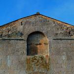 Croisée du transept, trompes, baie géminée