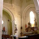 La nef, l'extrémité Est