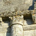Eglise façade Ouest, deuxième niveau, détail