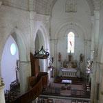 La nef, vue vers Est depuis la tribune