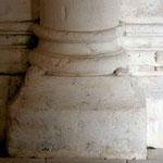 L'avant nef, base de colonne