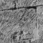 Traces de marteau taillant
