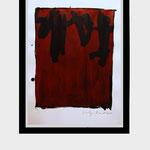 """Colgante"". 48 x 65 cm. Acrílico sobre papel. 2010"