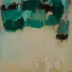 Libre por un Momento. 116 x 89 cm. Técnica mixta sobre tela. 2009