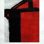 Estructura #01. 28,5 x 36 cm. Acrílico sobre papel. 2011