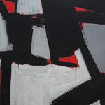 Sombra de Cubos. 116 x 89 cm. Técnica mixta sobre tela. 2010