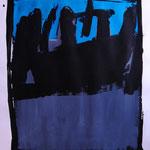 Guiño. 48 x 65 cm. Acrílico y tinta caligráfica sobre papel. 2010