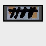 """Trastes"". 25 x 11 cm. Acrílico sobre papel. 2013"