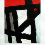 Estructura #02.  28,5 x 36 cm. Acrílico sobre papel. 2011