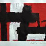 Doble Horizonte. 20,5 x 26 cm. Acrílico sobre papel. 2011