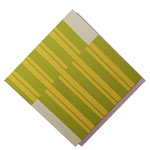 """Stripes #01"".  40 x 40 cm. Acrílico sobre tela. 2018"