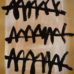 Sin Título. 48 x 65 cm. Tinta caligráfica sobre papel. 2009