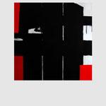 - Lock Gate -  100 x 100 cm. Acrílico sobre tela. 2012