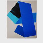 Large Fold #02. 73 x 92 cm. Acrílico sobre tela. 2017