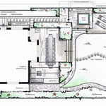 Grundriss handcoloriert in CAD