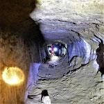 Galerie de contre-mine dans un fort du XIXe siècle