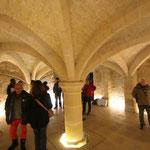 Cave sous l'hotel de ville de Senlis (C) L. Stevens