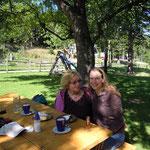 meine Mutter und ich - Hengsthütte - Schneeberg - NÖ 2011