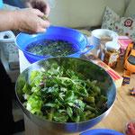 Wiesenkräutersalat...