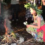 Sommersonnwendfeier 2012 in Vorarlberg - Foto: Adrees Ghakhar