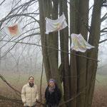 Der heilige Narr 2012: Abschiedsfoto mit Helena und Traumfänger