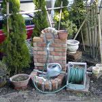 レンガ立水栓