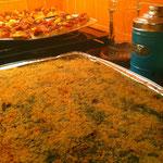 Sformato di riso agli spinaci