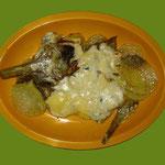 Sformato di Carciofi e patate