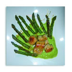 Guanto agli asparagi