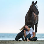 Shooting mit Pferd in Sankt Peter-Ording-tierpfoto