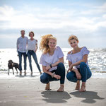 Fotografie Annett Mirsberger am Strand in St. Peter-Ording