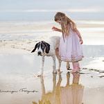Shooting mit Kind und Hund am Strand-Mirsberger Foto