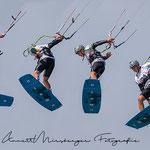 Collage mit Kiter von Fotografin Annett Mirsberger