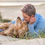 Mensch und Hund Shooting mit Annett Mirsberger