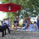 Familie im Garten-Fotografie Annett Mirsberger