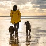 Fotografie Hund und Mensch Annett Mirsberger