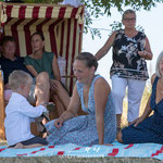 Familienshooting im Garten von Fotografie Annett Mirsberger
