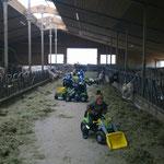 traktörle im Tenn