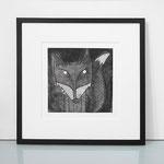 Mr Fox framed