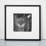 Mr Fox framed