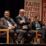 Tous sourires de Pascal Lafargue, Jean-Marie Darmian, Naïma Charaï. #benoithamon2017