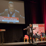 Pascal Lafargue, Président d'Emmaüs Gironde, tente une macronnade. #benoirhamon2017