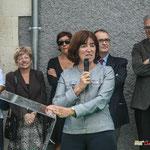 Michelle Cazenove, Sous-préfète de Langon. Inauguration du gîte d'étape de Citon-Cénac. 01/10/2010