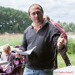 Christophe Miqueu. Pique-nique des Insoumis de la 12ème circonscription de la Gironde, 4 juin 2017, Esplanade Josselin, le Tourne